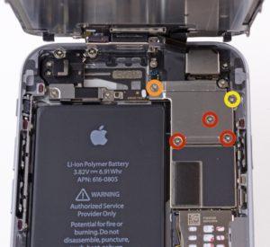 Как заменить батарею (аккумулятор) iPhone 6/6S