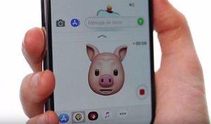 Как на iPhone X сделать эмоджи (анимоджи)